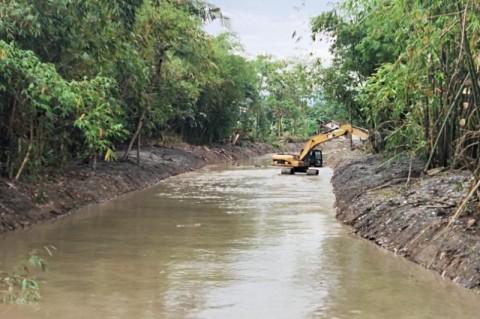 Pekalongan Normalisasi Sungai Antisipasi Banjir