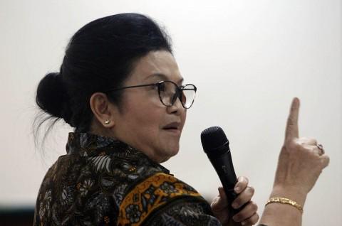 Eks Menkes Siti Fadilah Bebas Murni