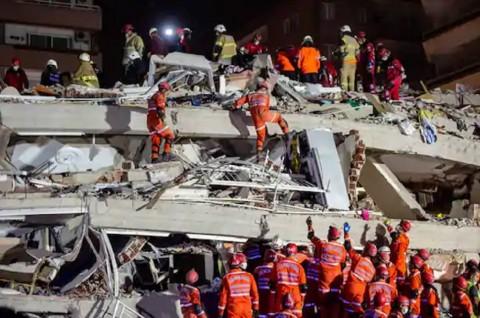 Korban Tewas Gempa Bumi di Turki Jadi 26 Orang