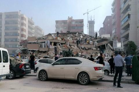 Guncangan Susulan Magnitudo 5,0 Guncang Turki usai Gempa Izmir