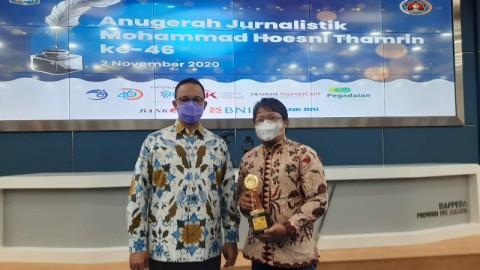 Medcom.id Sabet Anugerah Jurnalistik MH Thamrin