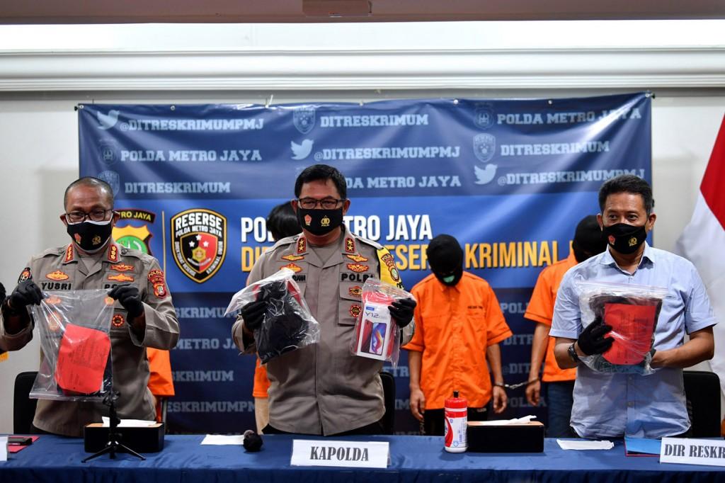 Polisi Tangkap 10 Begal Pesepeda