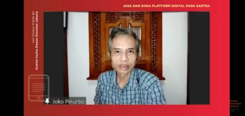 Joko Pinurbo Baru Sadar Pentingnya Promosi Karya Sastra di Media Digital