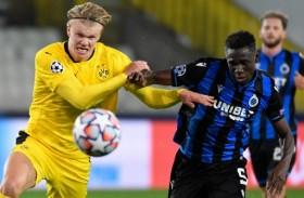 Club Brugge vs Dortmund: Brace Halland Bantu  Die Borussen Curi 3 Poin