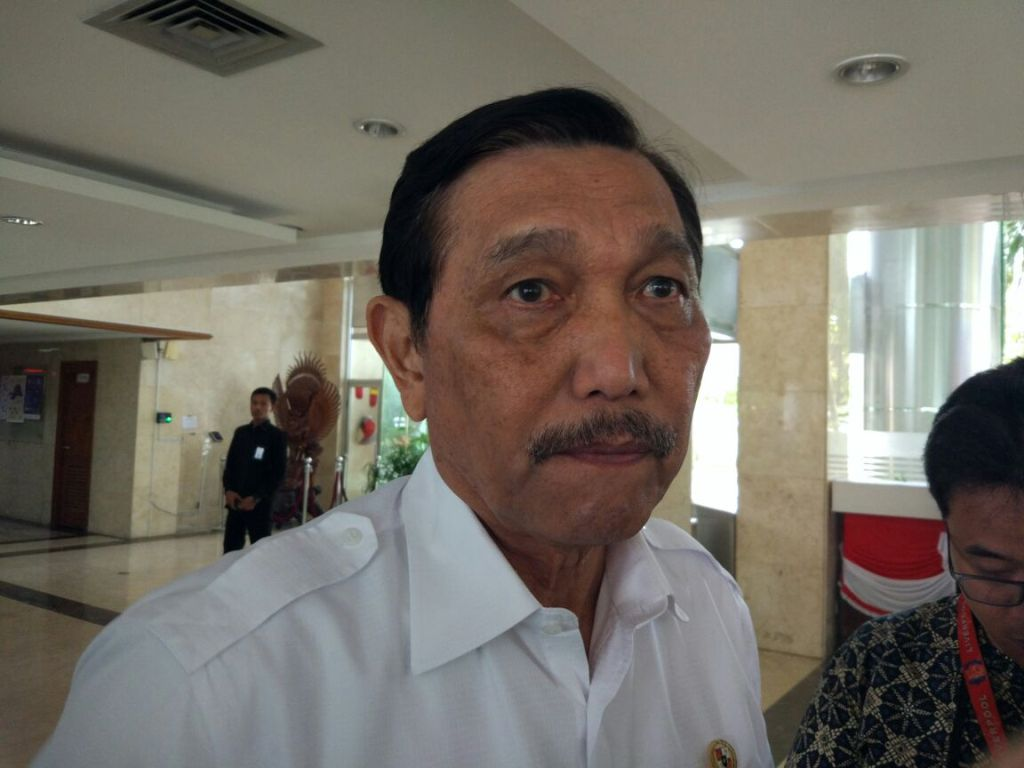 Menteri Koordinator Bidang Kemaritiman dan Investasi Luhut Binsar Pandjaitan. Foto: Medcom.id/Annisa Ayu.