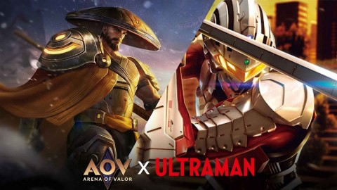 Ada Ultraman di Arena of Valor