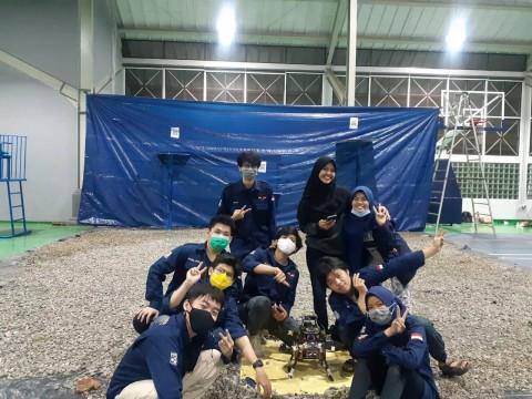 Aksantara ITB Borong Juara di Kontes Robot Terbang Indonesia