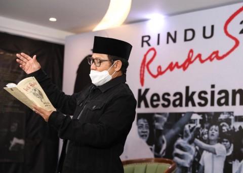 Gus AMI: Rendra Tak Hanya Legenda Puisi Tapi Juga Politik