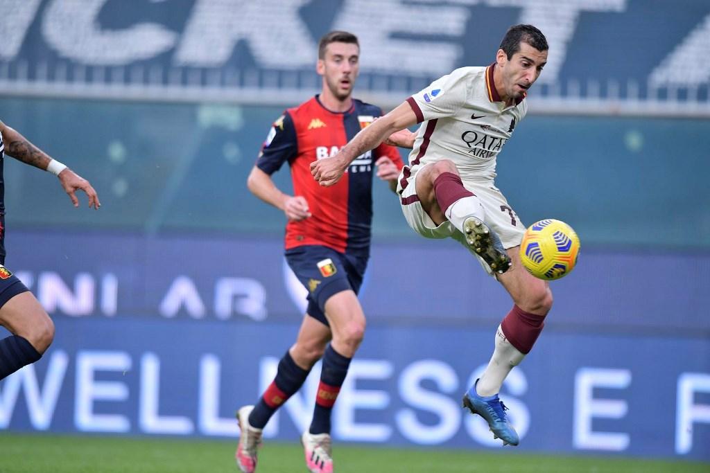 Genoa vs AS Roma: Hattrick Mkhitaryan, I Lupi Terkam Il ...