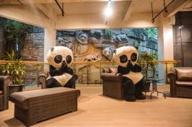 Ada Hotel Bertema Panda di Kawasan Puncak Bogor