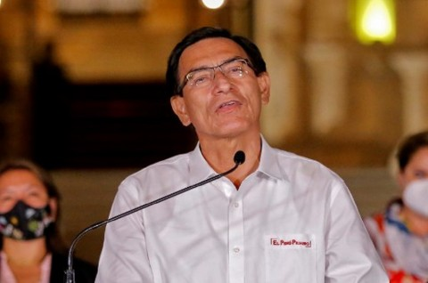 Presiden Peru Dimakzulkan Kongres