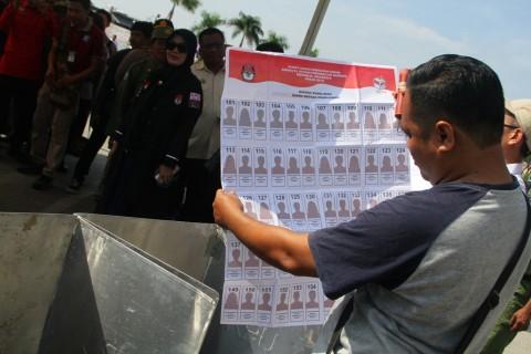 KPU Medan Cetak 1.63.175 Surat Suara