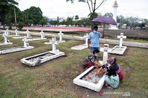 Taman Makam Pahlawan Pekanbaru Jadi Sasaran Maling