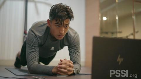 Selama Latihan Virtual, Pemain Timnas U-19 Jalani Latihan Fisik