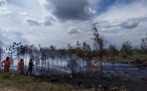 Populer Daerah, Karhutla Sumsel Turun 70% Hingga Gunung Sinabung Luncurkan Awan Panas