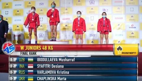 Atlet Karawang Harumkan Nama Indonesia Lewat Kejuaraan Dunia Sambo
