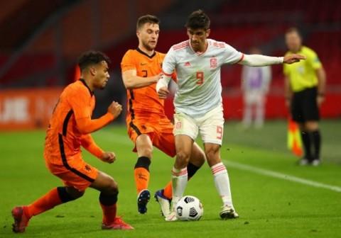 Belanda vs Spanyol: Donny van de Beek Selamatkan Belanda dari Kekalahan