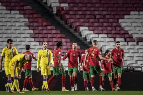 Portugal vs Andorra: Gol Cristiano Ronaldo Mewarnai Pesta Gol ke Andorra