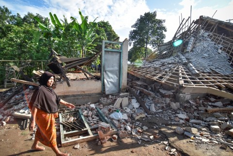 Korban Gempa NTB Terima Jatah Hidup Tahap II