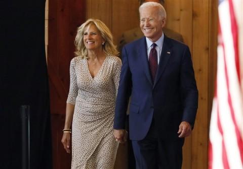 Sekilas Kisah Cinta Abadi Joe Biden dan Jill