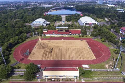 Renovasi Arena Atletik JSC Ditargetkan Rampung Februari 2021