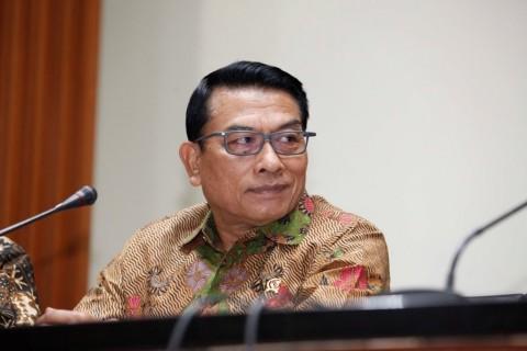 Moeldoko Sebut Pemberian Tanda Kehormatan ke Hakim MK Tak Mengurangi Independensi