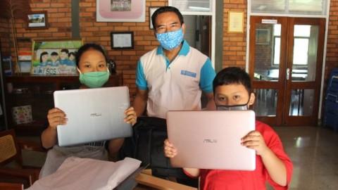 Swasta Gelontorkan Rp113 Juta untuk Perangkat Belajar <i>Online</i>