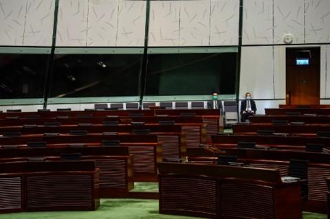 Parlemen Hong Kong Sepi Tanpa Anggota Pro-Demokratis