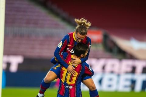 Messi Diklaim Bikin Karier Griezmann di Barcelona Hancur