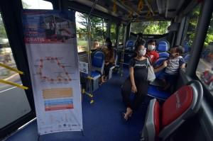 Pemprov Bali Uji Coba Bus Listrik Gratis
