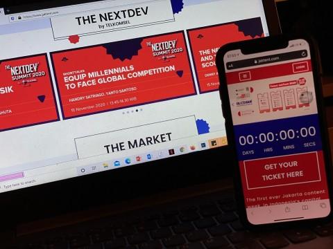 Gandeng JakTent, Telkomsel Gelar The NextDev Summit 2020