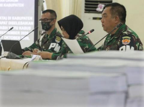 8 Prajurit TNI AD Jadi Tersangka Pembakar Rumah Dinas Kesehatan