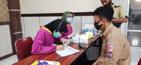 1.038 Penyelenggara Pilkada di Makassar Jalani Rapid Tes