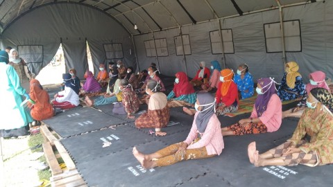 Pengungsi Merapi di Jateng dan Sleman Mencapai 1.457 Jiwa