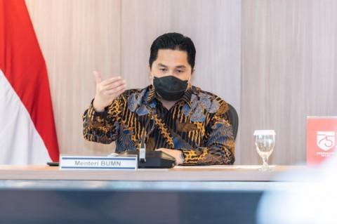 Menteri BUMN: Pandemi Covid-19 Beri Peluang Percepatan Transformasi Digital