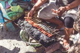 Cara Membuat Sate Lilit Ikan