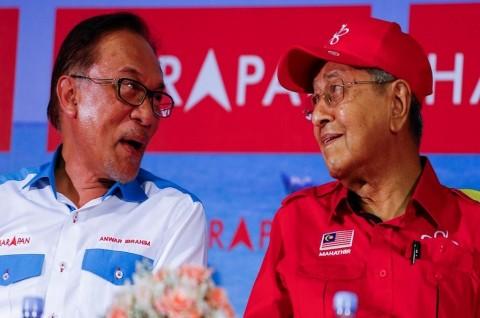 Mahathir Nilai Anwar Ibrahim Tak Bisa Menjadi PM yang Baik