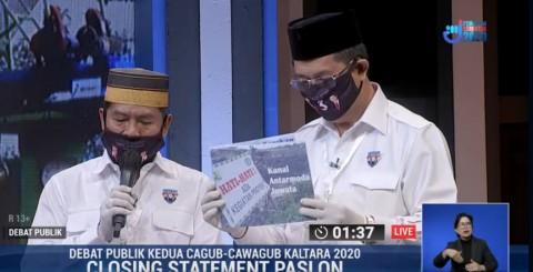 Zainal-Yansen Kritik Penggunaan Anggaran 5 Tahun Terakhir di Kaltara