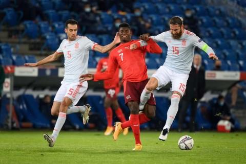 Swiss vs Spanyol: Diwarnai Kegagalan Penalti Ramos, Spanyol Ditahan Imbang