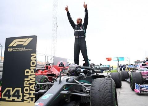 Terdepan di F1GP Turki, Lewis Hamilton Juara Dunia F1 2020