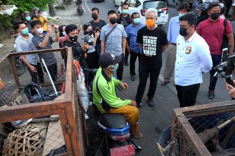 Bobby Nasution Kunjungi Kota Tua Medan