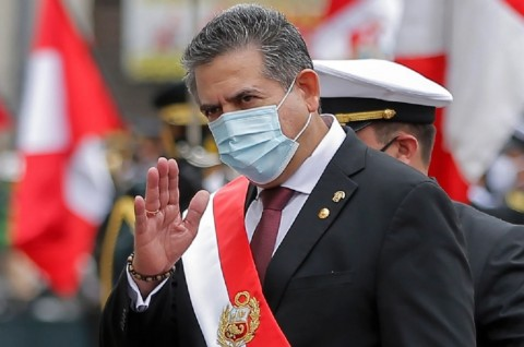 Presiden Interim Peru Mundur usai Kematian Demonstran