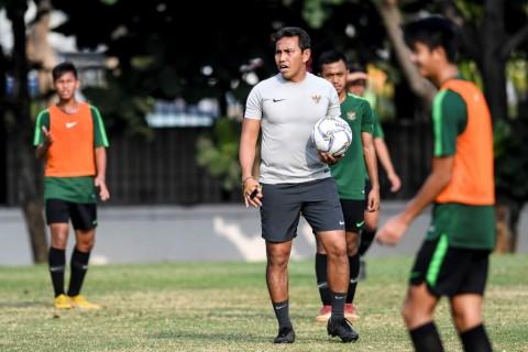 Latihan Perdana Timnas U-16 Fokus Tingkatkan Kebugaran