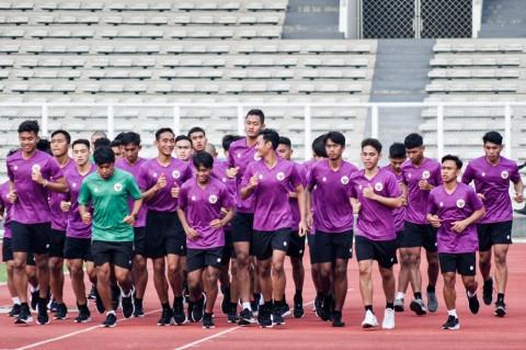 Timnas U-19 Kembali Jalani Latihan di Stadion Madya