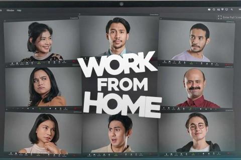 Serial Work From Home Digarap dengan Menggunakan Zoom Meeting