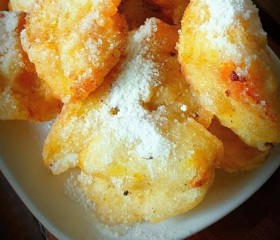 Resep Pisang Crispy Keju