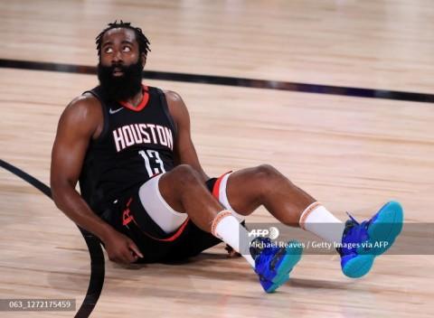 Ingin ke Nets, James Harden Tolak Perpanjangan Kontrak Rockets