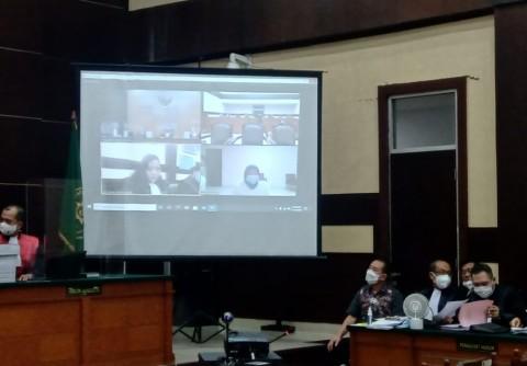 Bukti Pengiriman Gambar Surat Jalan Palsu dari Prasetijo Diperlihatkan di Sidang