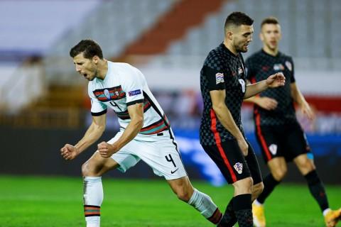 UEFA Nations League: Ruben Dias Antar Portugal Atasi Perlawanan 10 Pemain Kroasia
