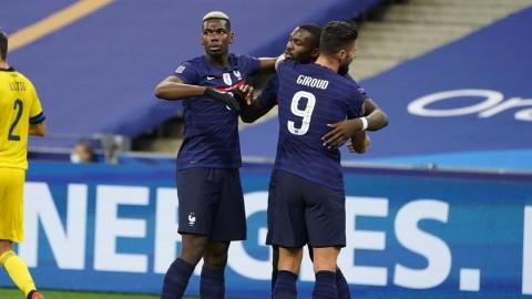 UEFA Nations League: Prancis Bikin Swedia Terdegradasi